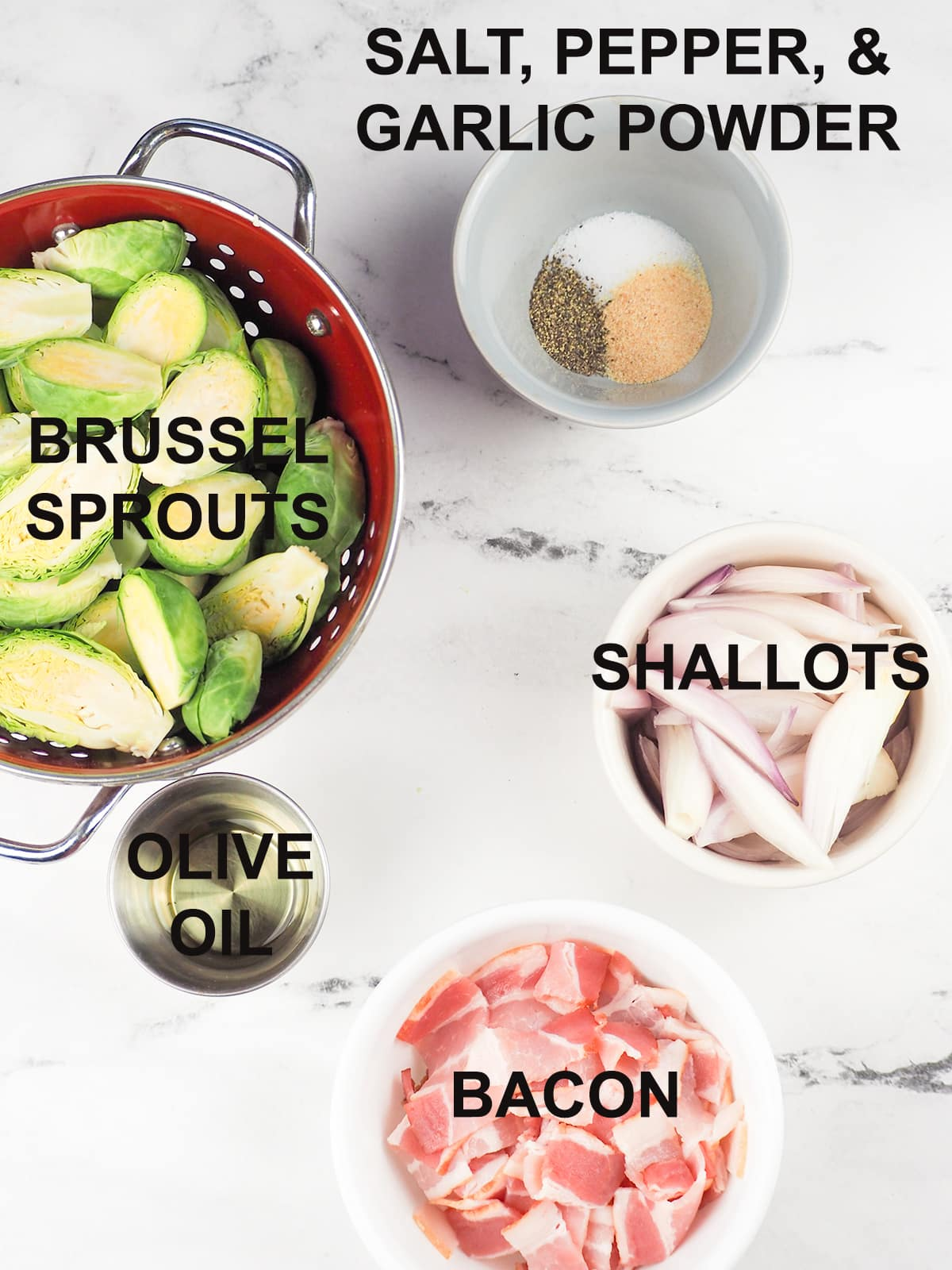 ingredients for dish