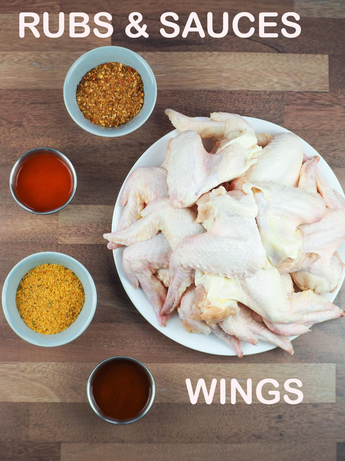 ingredients for smoked wings
